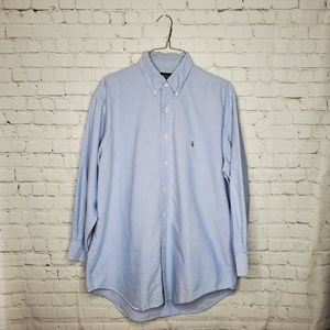 Ralph Lauren  Yarmouth Light Blue Oxford Shirt